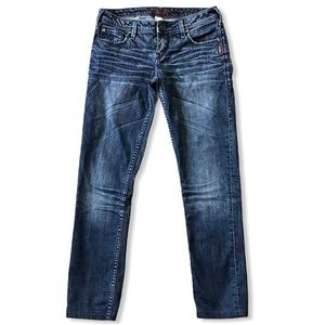 SILVER JEANS   Audrey Dark Low Rise Stretch 27x28